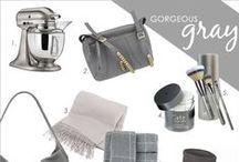 Gorgeous Gray / Gray is the new black.