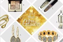 All That Glitters / Get glowing with our favorite sparkly picks!