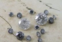 Diamonds / At Alexis Dove we specialise in unusual and unique diamonds, rose cuts, old cuts and coloured diamonds