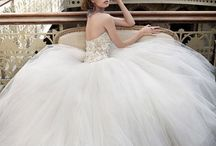 A dream with bridal gown