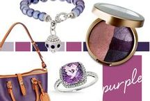 Shades of Purple / From sweet plum to soft lilac, berry to orchid, saturated purple tones are making a splash!