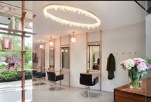 KCI: RHB / Kate Challis Interiors revamp of Melbourne hair and beauty salon, RHB located in St Kilda Rd, Melbourne