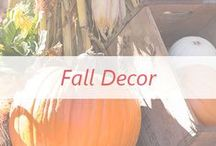 Fall Decor / How to decorate your home for the festive fall season! Make your fall decor last through thanksgiving!