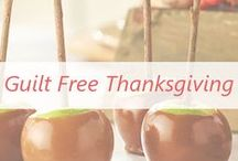 Guilt Free Thanksgiving Recipes / Allergy & Diet friendly recipes for this holiday season