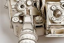 camera love / a collection of classic, vintage and modern cameras of all sizes and design.