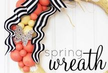 DIY : Wreath / Wreaths for all occasions.