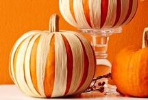 SEASONAL : FALL decor / Autumn and fall decorating ideas