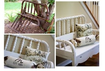 DIY :  repurposing / Ideas to reuse that old crib