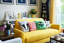 Home. Decorate / home decorating inspiration and ideas, bright whimsical, bohemian, and shabby chic