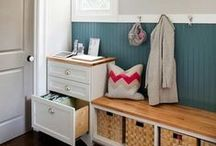 HOME : Mudroom DIY