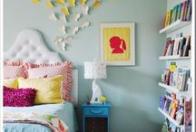 BEDROOM :  tween / Redecorating my 12 year old bedroom. . Looking for a hip,  not too boring, not too young look.