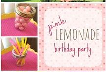 PARTY : girl / birthday party ideas for girls