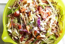 Food - Salivating Salads! / I love a crispy, delish salad! / by Jeanne Tims Ross