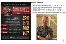4 Rivers Smokehouse In The News / Here's where we share some of our Chef John Rivers media appearances, and clips of reviews of our Smokehouses and Sweet Shop