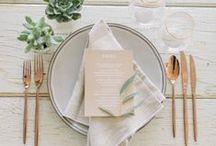 Wedding: Table Settings / by Tasteful Tatters
