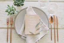 Wedding: Table Settings