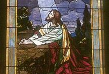 Art - Stained Glass / I wish I had the talent it takes to make something so lovely! But I can, at least, enjoy looking at it! / by Jeanne Tims Ross