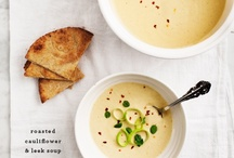 Soupy Deliciousness / I don't make enough soup. I should start trying because it seems pretty easy. / by Liv M