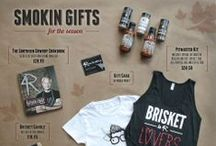 Smokin Gifts / Make the holiday extra special with these festive gifts! Visit www.4Rsmokehouse.com SHOP 4R page!