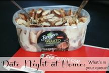 DATE NIGHT: in home ideas / sharing ideas for the perfect in home date night. no need to go out and spend lots of money! #GelatoLove #contest.