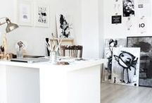 work spaces / my dream studio and inspiration