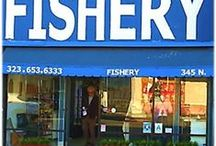 Fairfax Fishery / Located at 345 N. Fairfax, Los Angeles
