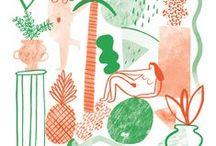 Illustration / by Sophie Banh
