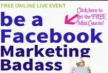 Facebook Marketing Tutorials / Even MORE Social Media and Internet Marketing Mojo can be found at http://directlysuccessful.com and http://youtube.com/directlysuccessful / by Kelly Paull | Directly Successful