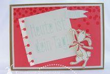 Kleinerhase-Stempelnase / Individuelle Karten handgemacht mit Stampin' Up! www.kleinerhase-stempelnase.com