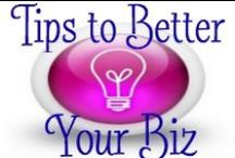 Tips to better your Biz / Be a badass in business with these tips from the experts. / by Kelly Paull | Directly Successful