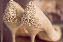 Wedding Shoes / Walking down the aisle in style / by Engagement Rings
