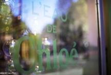 Eau de Chloé, vitrine événementielle