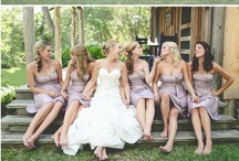 Beautiful Bridesmaids and adorable flower girls / by Engagement Rings