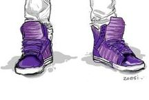 Sneakers, Sneakers and more Sneakers / Awesome sneakers!!! / by Athaliah Walcott