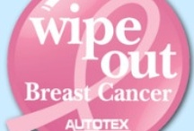 Wipe Out Breast Cancer / Every three minutes, a woman is diagnosed with breast cancer. 1 in 8 women will develop breast cancer in their lifetime. Join AskPatty.com Automotive Advice for Women and AutoTex PINK in spreading awareness this October!