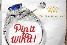 "Holiday Wedding - Pinterest Giveaway / Pin your dream holiday wedding for a chance to win a chance to get a Verragio Setting! STEP 1: Follow Whiteflash Pinterest STEP 2: Create a board titled, ""Holiday Wedding"" STEP 3: Go to whiteflash and re-pin at least three images to the Board (tag all pins with #Whiteflash #Verragio) STEP 4: Email the URL of the ""Holiday Wedding"" pinboard to Pinterest@whiteflash.com