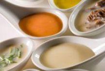 Salsas / Una buen salsa le da originalidad y sabor a un plato aburrido.