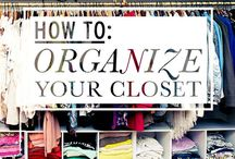 Closet organization / by Denise Christine