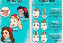Pin-Up Hair Do's #2 / by Lauren Schroeder