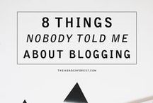 Blogging / Blogging tips and advice to build a successful blog