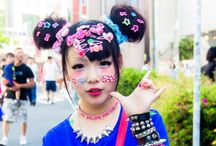 Asian Fashion and Music Style / Fashion and music from Asia, including Harajuku Girls, K-Pop and J-Pop bands, Street Style, and other fashion and music trends. / by Boston Red Lox