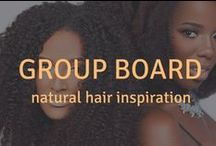 Natural Hair Styles to Try! | Group Board / Join in on the fun and share your favorite natural hair styles, tips, tricks, blogs, and videos. We love to see what our afro curly girls & guys come up with! -- If you want to join, leave a comment and tag us @CubesandCurls