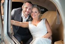 Wedding Grand Exits / Leaving your wedding in style.  Sparklers, classic cars, balloons.