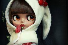 Just A Girl / Love Blythe and Barbie Dolls / by Donel Belovsky