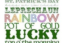 St Patrick's Day / by Traci Scroggs Brown