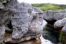 Caves, Caverns, Canyons, Coves & Gorges