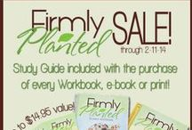 Family Devotions / Looking for a family devotional book? Try Firmly Planted! It focuses on growing the family as one, while teaching them all about a God that saves.