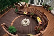 Porches, Balconies, Patios, Pergolas, Yards, and Decks / Backyards, Courtyards, Pergolas, Hot tubs, and Outdoor Rooms. Spaces to Relax, and Enjoy Nature.
