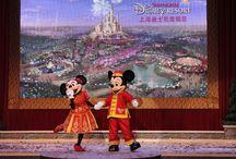 Shanghai  Disneyland / New Disneyland being built in Shanghai🎎🏰 / by Donel Belovsky
