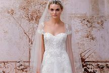 Wedding dresses / Mish mash of lace wedding dress loveliness / by Vintage Teatime